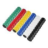 60 Magnete Bunt Ø 24 mm | Farbig | Haftmagnete | Rund | Whiteboard - Kühlschrank - Magnettafel - Magnet - Magnetwand - Büro - Haushalt