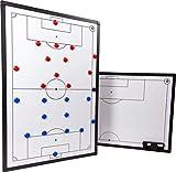 ELF Sports Premium Magnet - Fußball Taktiktafel inkl. Zubehör - beidseitiger Druck - 3 Größen wählbar, Größe:45 x 30 cm