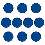 bonsport 20 x Magnete für Magnettafel blau Ø 32mm, Kühlschrank - Haftmagnete für Whiteboard, Magnet rund