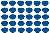 FRANKEN 30x Haftmagnete Magnet, 32 mm, 800 g (Blau)