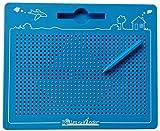 TollesfürKinder Magnetspiel für Kinder - Magnet Zaubertafel mit Kugeln und Stift - Tolle Beschäftigung Kinder ab 3 - Das magische Magnet Spiel für die stressfreie Autofahrt