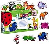 Magnete Kinder ZOOTIERE 29 Stück- Kühlschrankmagnete kinder Mädchen Junge- Bauernhof spielzeug- Tiere Spielzeug magnet- Magnetspielzeug- Magnete spielzeug- Kinder tiere