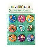 PinkMausi 9 Kleiner Helfer Magneten – Tolles Extra & Add-on Belohnungstafel – Magnetisch & auf Deutsch – Für Mädchen & Jungen (Kleiner Helfer)