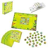 Akokie Magnettafel Kinder Puzzle Spielzeug Tiere Motorikspielzeug Mathematik Logisches Gedächtnis Vorschule Lernen Spielzeug Geschenk für Kinder ab 4 5 6 Jahren Mädchen Junge