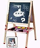 Jaques Von London Staffelei Kinder – Perfekt Holzspielzeug ab 1 2 3 jahr - Magnete für magnettafel kinder Tolle Geschenk 3 jahre mädchen & Jungs