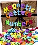Jaques von London Buchstaben Magnete Kinder | ABC Magnete Kinder Magnete Spielzeug | 124 Magnete für magnettafel | Magnete kühlschrank Kinder| Seit 1795